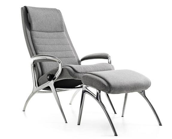 designer bequemsessel stressless you john aluminium. Black Bedroom Furniture Sets. Home Design Ideas